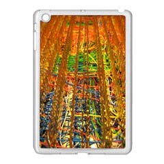 Circuit Board Pattern Apple Ipad Mini Case (white) by Simbadda