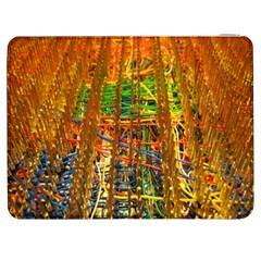 Circuit Board Pattern Samsung Galaxy Tab 7  P1000 Flip Case by Simbadda