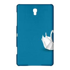 Swan Animals Swim Blue Water Samsung Galaxy Tab S (8 4 ) Hardshell Case  by Alisyart