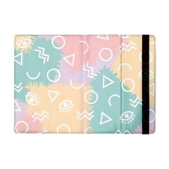 Triangle Circle Wave Eye Rainbow Orange Pink Blue Sign Ipad Mini 2 Flip Cases by Alisyart
