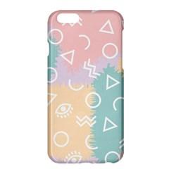 Triangle Circle Wave Eye Rainbow Orange Pink Blue Sign Apple Iphone 6 Plus/6s Plus Hardshell Case by Alisyart