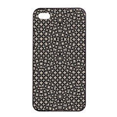 Modern Oriental Pattern Apple Iphone 4/4s Seamless Case (black) by dflcprints