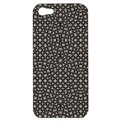 Modern Oriental Pattern Apple Iphone 5 Hardshell Case by dflcprints