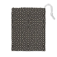 Modern Oriental Pattern Drawstring Pouches (extra Large) by dflcprints