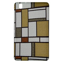 Fabric Textures Fabric Texture Vintage Blocks Rectangle Pattern Samsung Galaxy Tab Pro 8 4 Hardshell Case by Simbadda