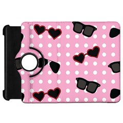 Pisunglass Tech Pink Pattern Kindle Fire Hd 7  by Simbadda