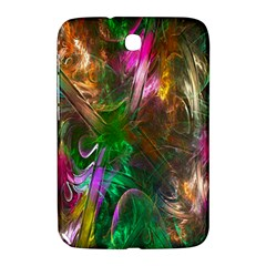 Fractal Texture Abstract Messy Light Color Swirl Bright Samsung Galaxy Note 8 0 N5100 Hardshell Case  by Simbadda