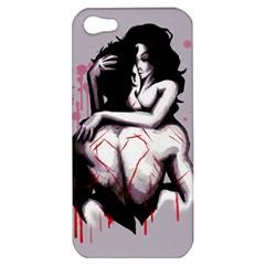 Love Marks Apple Iphone 5 Hardshell Case by lvbart