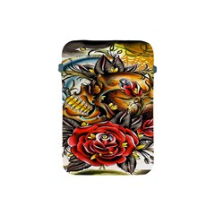 Flower Art Traditional Apple Ipad Mini Protective Soft Cases by Onesevenart