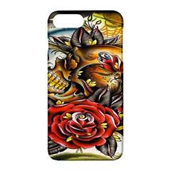 Flower Art Traditional Apple Iphone 7 Plus Hardshell Case by Onesevenart