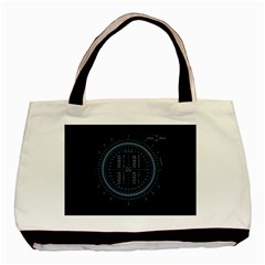 Minimalistic Knowledge Mathematics Trigonometry Basic Tote Bag by Onesevenart