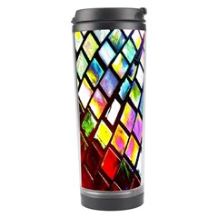Multicolor Wall Mosaic Travel Tumbler by Onesevenart