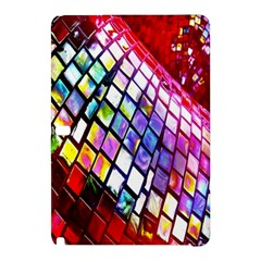 Multicolor Wall Mosaic Samsung Galaxy Tab Pro 12 2 Hardshell Case by Onesevenart