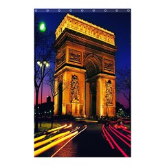 Paris Cityscapes Lights Multicolor France Shower Curtain 48  X 72  (small)  by Onesevenart