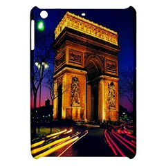 Paris Cityscapes Lights Multicolor France Apple Ipad Mini Hardshell Case by Onesevenart