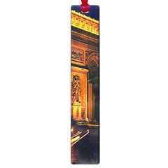 Paris Cityscapes Lights Multicolor France Large Book Marks by Onesevenart