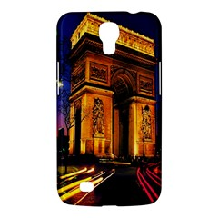 Paris Cityscapes Lights Multicolor France Samsung Galaxy Mega 6 3  I9200 Hardshell Case by Onesevenart