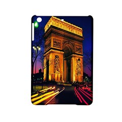 Paris Cityscapes Lights Multicolor France Ipad Mini 2 Hardshell Cases by Onesevenart