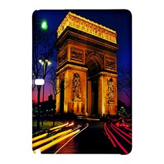 Paris Cityscapes Lights Multicolor France Samsung Galaxy Tab Pro 12 2 Hardshell Case by Onesevenart