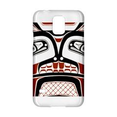 Traditional Northwest Coast Native Art Samsung Galaxy S5 Hardshell Case  by Onesevenart