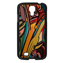 Vivid Colours Samsung Galaxy S4 I9500/ I9505 Case (black) by Onesevenart