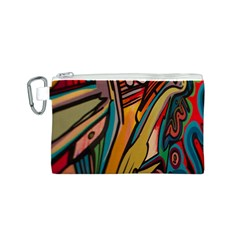 Vivid Colours Canvas Cosmetic Bag (s) by Onesevenart
