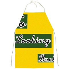 No Looking Back Full Print Aprons by Mandielei