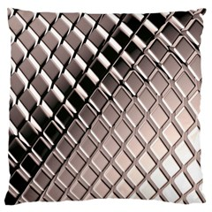 3d Abstract Pattern Large Flano Cushion Case (one Side) by Onesevenart