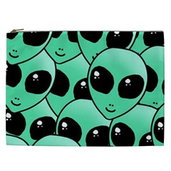 Alien Cosmetic Bag (xxl)  by Onesevenart