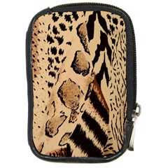 Animal Fabric Patterns Compact Camera Cases by Onesevenart