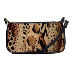 Animal Fabric Patterns Shoulder Clutch Bags by Onesevenart
