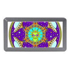 Alien Mandala Memory Card Reader (mini) by Onesevenart