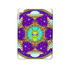 Alien Mandala Ipad Mini 2 Hardshell Cases by Onesevenart