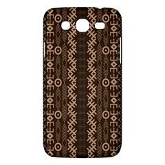 African Style Vector Pattern Samsung Galaxy Mega 5 8 I9152 Hardshell Case  by Onesevenart