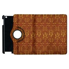 Art Abstract Pattern Apple iPad 2 Flip 360 Case