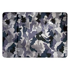 Army Camo Pattern Samsung Galaxy Tab 8 9  P7300 Flip Case by Onesevenart
