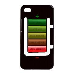 Black Energy Battery Life Apple Iphone 4/4s Seamless Case (black) by Onesevenart