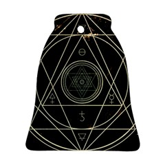 Cult Of Occult Death Detal Hardcore Heavy Bell Ornament (two Sides) by Onesevenart