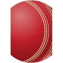 Cricket Ball 5 5  X 8 5  Notebooks by Onesevenart