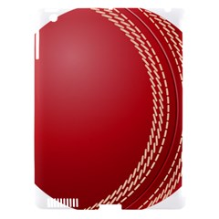Cricket Ball Apple Ipad 3/4 Hardshell Case (compatible With Smart Cover) by Onesevenart