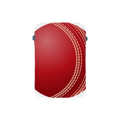 Cricket Ball Apple Ipad Mini Protective Soft Cases by Onesevenart