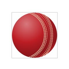 Cricket Ball Satin Bandana Scarf by Onesevenart