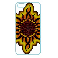 Disturbed Is An American Heavy Metal Band Logo Apple Seamless Iphone 5 Case (color) by Onesevenart