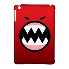 Funny Angry Apple Ipad Mini Hardshell Case (compatible With Smart Cover) by Onesevenart