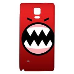 Funny Angry Galaxy Note 4 Back Case by Onesevenart