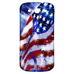 Flag Usa United States Of America Images Independence Day Samsung Galaxy S3 S Iii Classic Hardshell Back Case by Onesevenart