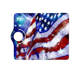 Flag Usa United States Of America Images Independence Day Kindle Fire Hdx 8 9  Flip 360 Case by Onesevenart