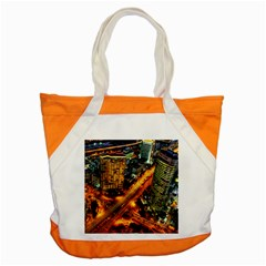 Hdri City Accent Tote Bag by Onesevenart