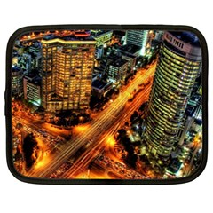 Hdri City Netbook Case (xxl)  by Onesevenart