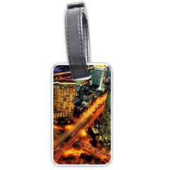 Hdri City Luggage Tags (two Sides) by Onesevenart